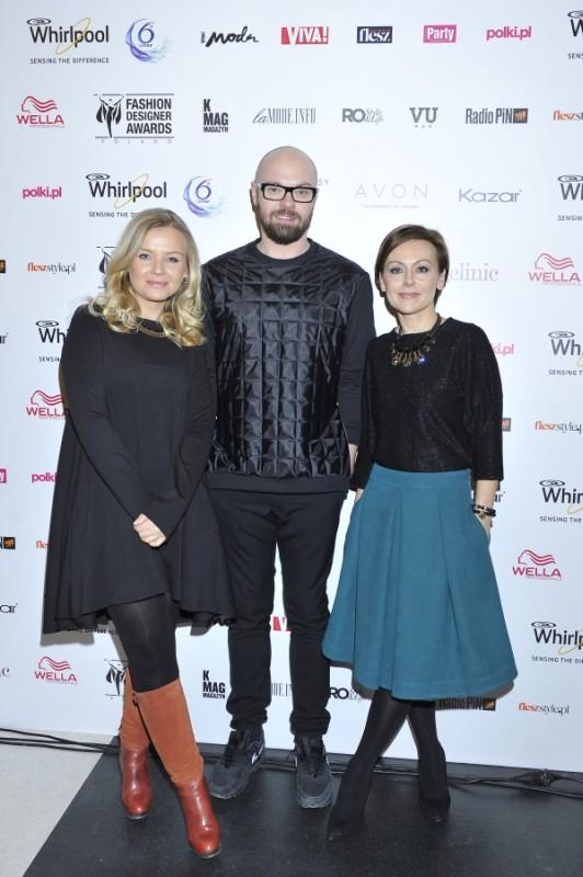 Sylwia Pilch ( PR & Advertising Manager -Avon) , Serafin Andrzejak, Joanna Sokołowska-Pronobis